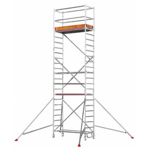 Mobile aluminum scaffolding 6771/, Hymer