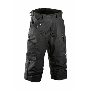 Trousers 3/4  680 black M, Dimex