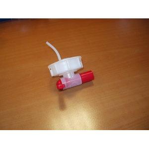 Plastik kraan 20L kanistrile , Valvoline