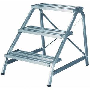 Aluminium step 3 steps 0,72m 6875, Hymer