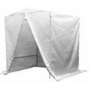 Welding tent 2x2x2m including metal frame, VLAMBOOG