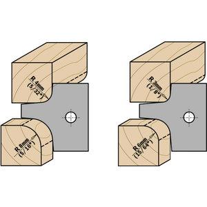 Peiliai 25X25X2 R=3/6 tinka 694.003 2 vnt., CMT