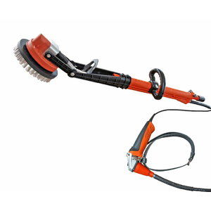 El. paviršių valymo įrankis Hedgehog W vandens purškimu, Rokamat