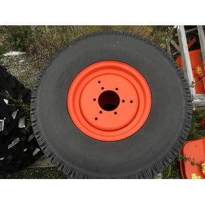 Rear Tyre+Wheel TURF 315/75D15 B1-series, Kubota