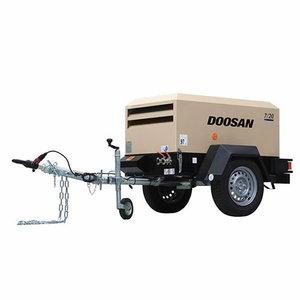 Portable air compressor 1,9m3/min 7/20, Doosan