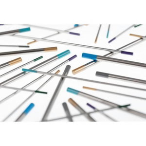 Volframa elektrods WL10 1,6 x 175 mm, melns, Binzel