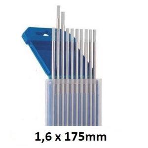 Volframinis elektrodas pilkas WC20 1,6x175mm, Binzel