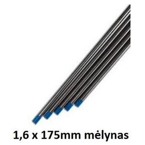 Volframinis elektrodas WL20 1,6x175mm mėlynas, Binzel