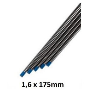 Tungsten electrode blue WL20 1,6x175mm, Binzel