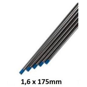 Volframinis elektrodas mėlynas WL20 1,6x175mm, Binzel