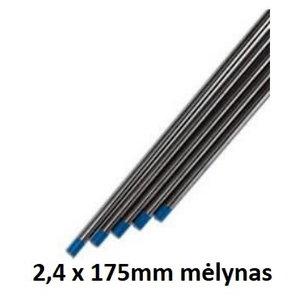 Volframinis elektordas WL20 2,4x175mm mėlynas, Binzel