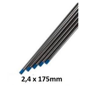 Volframa elektrods WL20 2.4mm, zils, Binzel