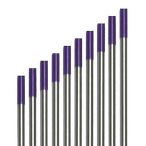 Volframa elektrods E3 1,6 x 175 mm, violets, Binzel