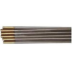 Volframa elektrods WL15 2.4mm, zelta krāsa
