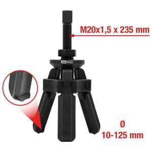 Guolio žiedas 3-kojų nuėmikliui  10-125mm 6-vnt, KS tools