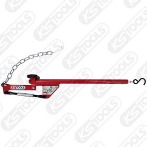 Universal axle lever with chain, 960mm