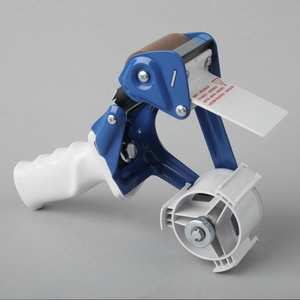 Packaging tape dispenser with blade cover for max 50mm tape