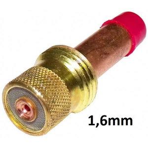 TIG-collet body Abitig17/18/26 for electrode w.gas lens1,6mm, Binzel