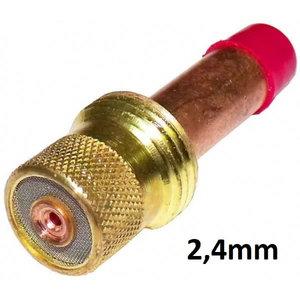 TIG-collet body for electrode w.gas lens 2,0-2,4mm, Binzel