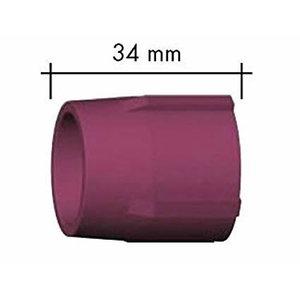 Ceramic gas nozzle, Abitig 9/20 d=24mm, l=34mm, Binzel