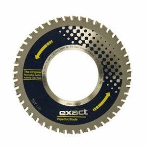 Diskas EXACT Pipecut TCT 140x62mm, plastikui, plienui, Exact tools