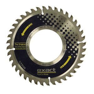 Diskas EXACT Pipecut TCT P 150x62mm, plastikui, plienui, Exact tools
