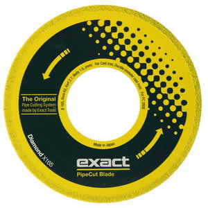 Blade for Exact pipecut. DIAMOND 165x62mm, Exact tools