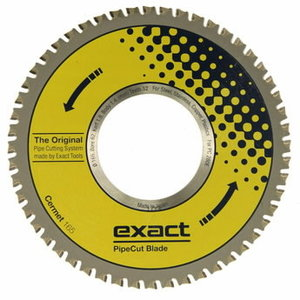 Blade for Exact pipecut. CERMET 165x62mm, Exact tools