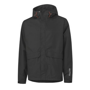 Vihmajakk Waterloo, must L, Helly Hansen WorkWear