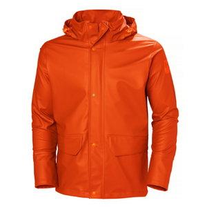Vandeniui atspari striukė Gale Rain,dark orange, Helly Hansen WorkWear