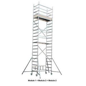 Mobile tower  Nr.  3, Alu-Pro