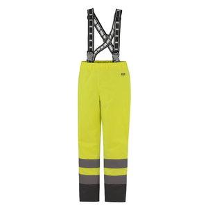 Kõrgnähtavad talvepüksid Alta CL2 traksidega kollane/must L, Helly Hansen WorkWear