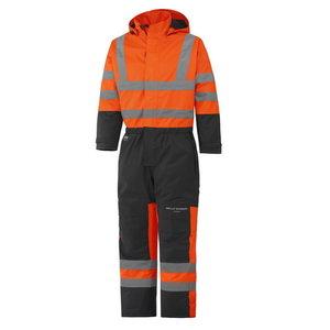 Hi-Viz Winter overall with hood Alta orange/dark blue, Helly Hansen WorkWear