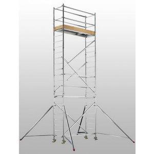 Mobile aluminum scaffolding 7074/, Hymer
