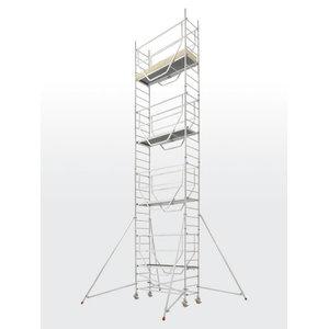 Mobile aluminum scaffolding 7075/, Hymer