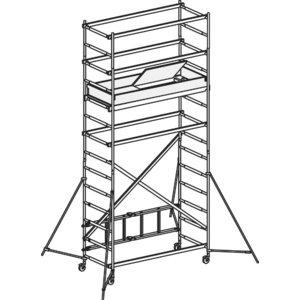 Mobile scaffold, Hymer
