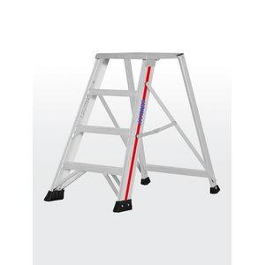 Step ladder 4 steps 0,84m 71020, Hymer