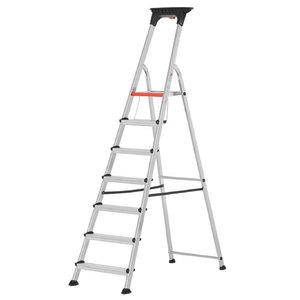 Step ladder 7 steps 1,44m 71026, Hymer