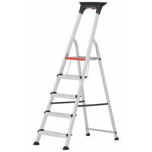 Step ladder 8 steps 1,66m 71026, Hymer
