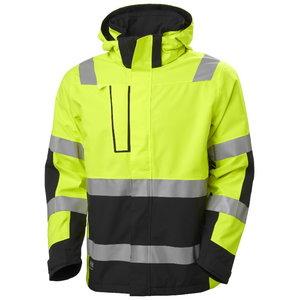 Vējjaka Alna 2.0 HI-VIS CL3, yellow/melna, Helly Hansen WorkWear