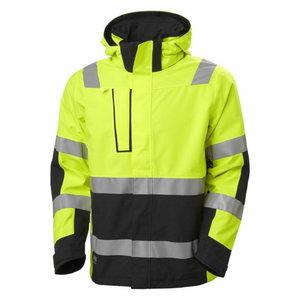 Vējjaka Alna 2.0 HI-VIS CL3, yellow/melna XL, Helly Hansen WorkWear