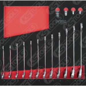 Lehtsilmusnarrede kompl 16-osa SCS GEARplus, KS Tools