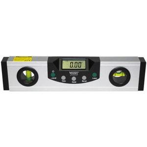 Electr. Digital Level with cross laser 228x57,5x26 mm, Vögel