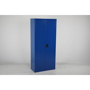 Steel cupboard  blue W800xD400xH1800 mm, Intra