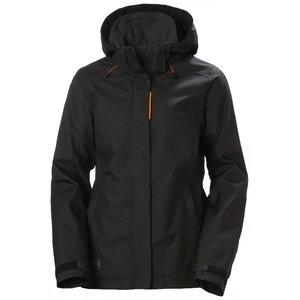 Jacket Luna hooded, women, black M, HELLYHANSE