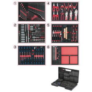 Moodulite kompl 6-le sahtlile 598- osaline, KS Tools
