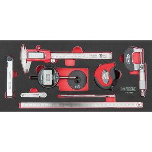 Measuring tool insert, 8 pcs, 1/3 system insert, KS Tools