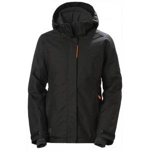 Winter jacket Luna hooded, women, black S, HELLYHANSE