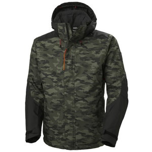 Winter jacket Kensington, hooded, Camo 2XL, , Helly Hansen WorkWear