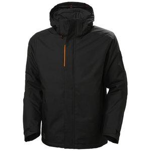 Winter jacket Kensington, hooded, black L, HELLYHANSE